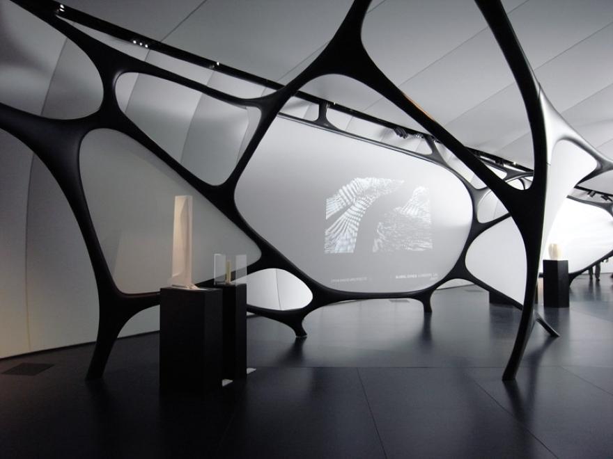 Zaha Hadid mobil Atizay Pavilion 10
