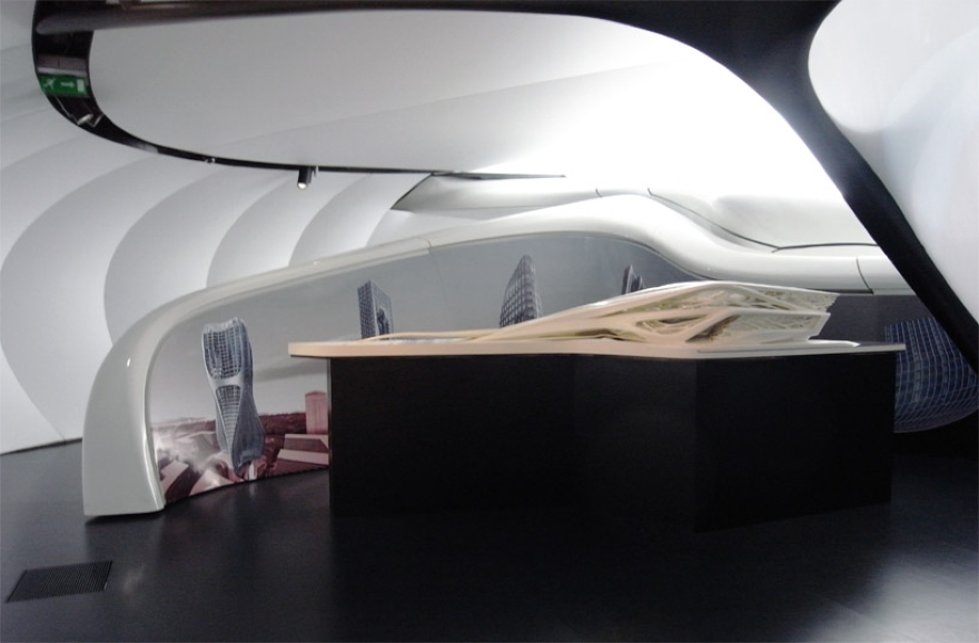De Zaha Hadid Móvel Art Pavilion 11