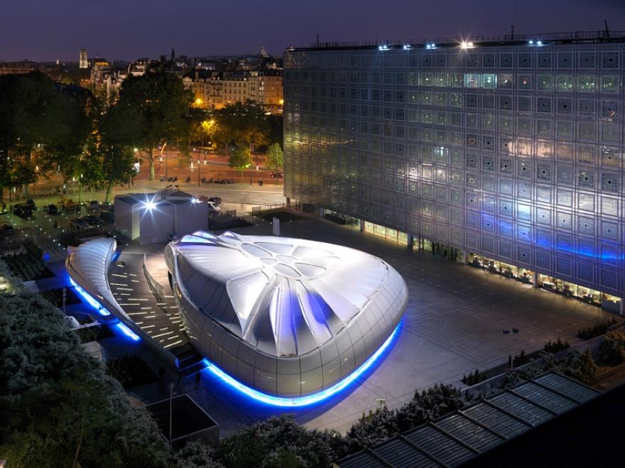 De Zaha Hadid Móvel Art Pavilion 13