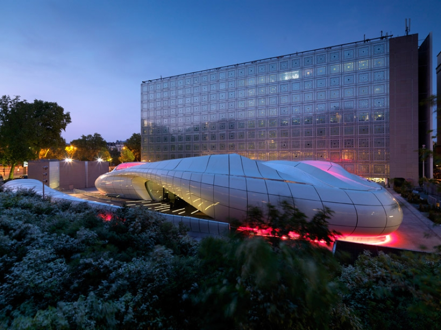 De Zaha Hadid Móvel Art Pavilion 14