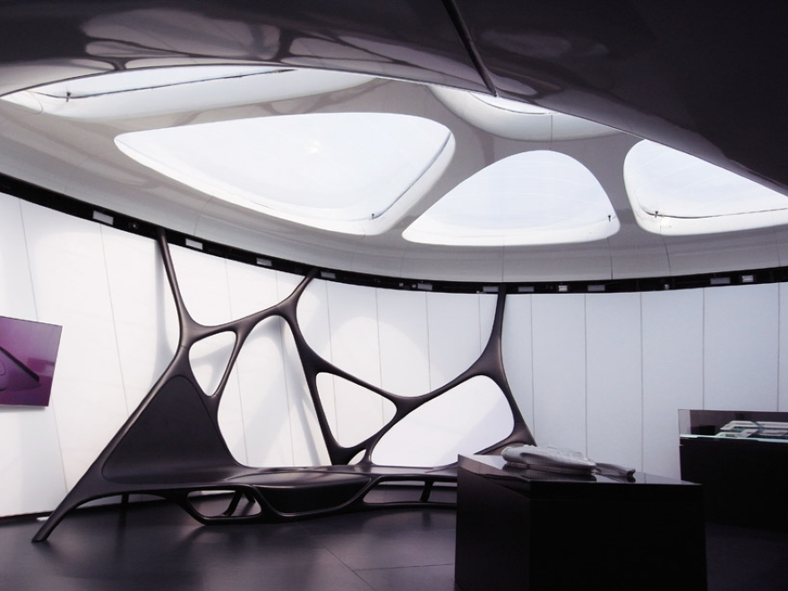 De Zaha Hadid Móvel Art Pavilion 17