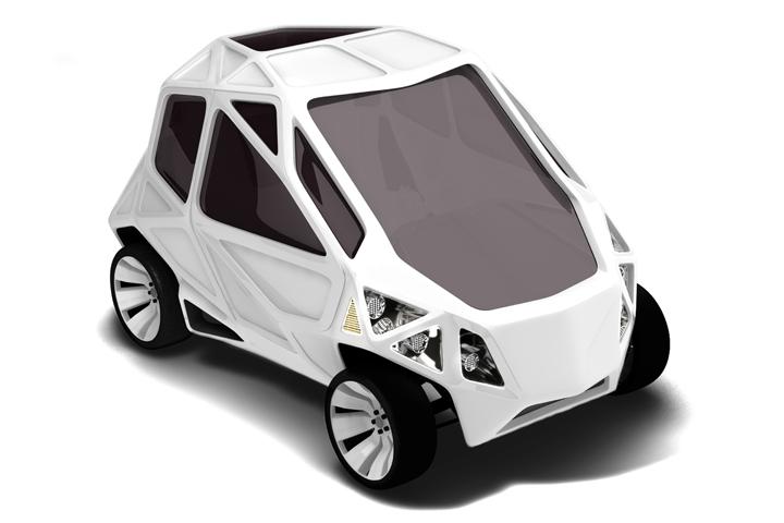 Mark_Beccaloni_e_Mauro_Fragiotta_exo_auto_elettrica_geodetica_3