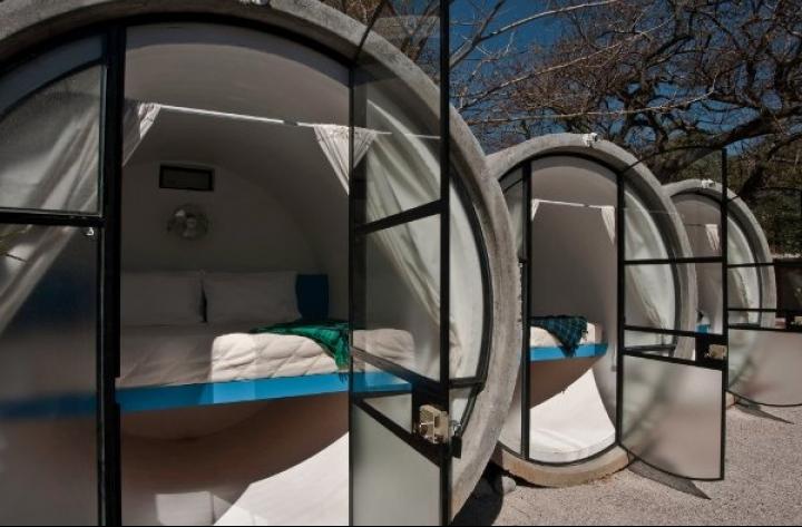 hôtels tubes