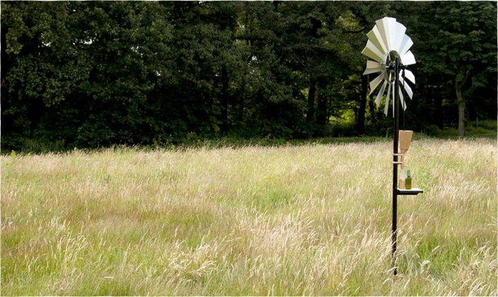 dave hakkens campo interno de óleo de vento