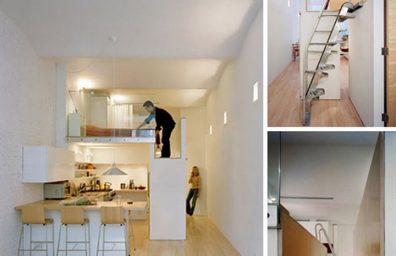 wenig-long-Loft-Raum