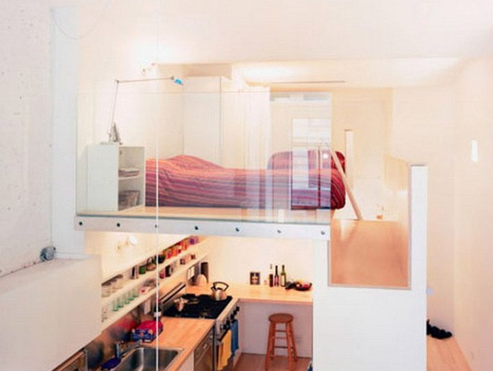 -lofted bedroom