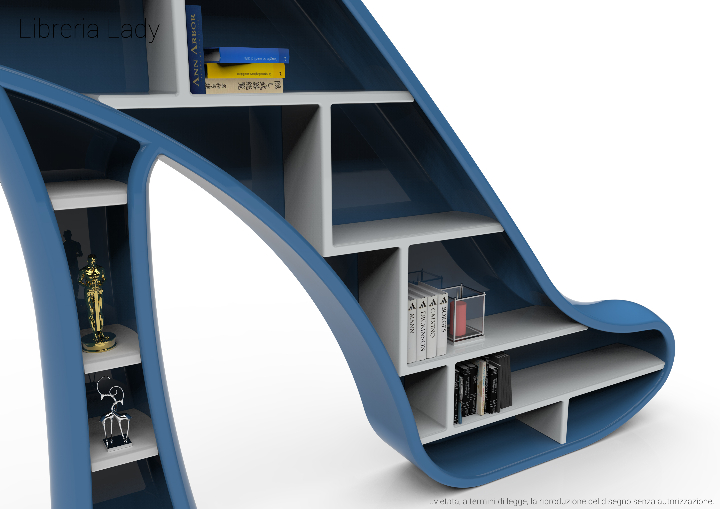 Bibliothek Lady m