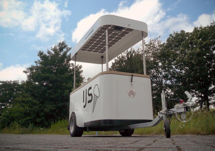 Frühling nachhaltige Eiswagen 001