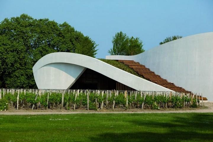 christian de portzamparc chateau cheval blanc winery 004
