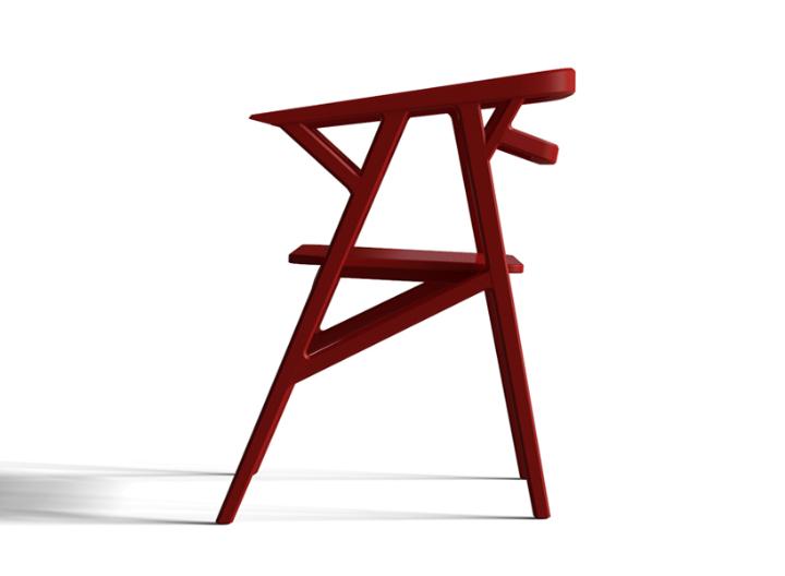 icono study A-CUT chair 2