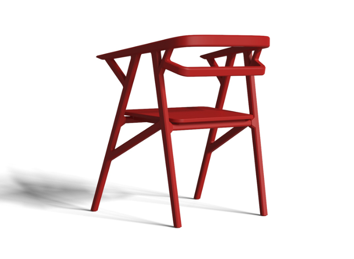 icono study A-CUT chair 3