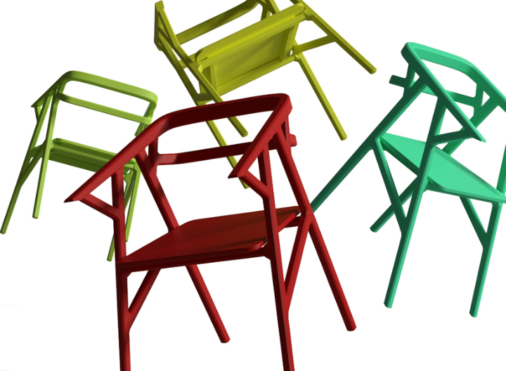 ICONO研究A-CUT椅子5