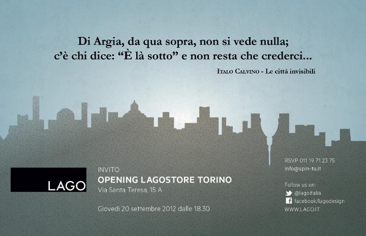 Invitación LagoStore TORINO web
