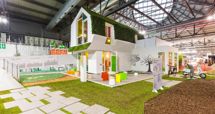 Clei A Made Expo All 39 Interno Della Mostra Green Home Design Abitare Il