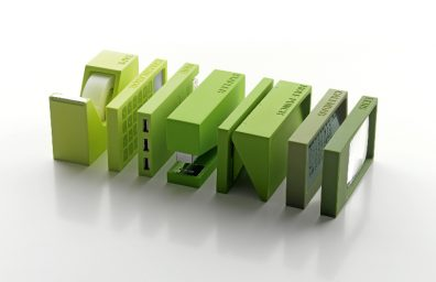 verde Gift Company Itália Lexon Buro