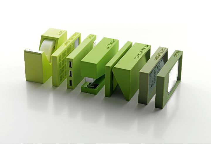 Gift Company Italy Lexon Buro green