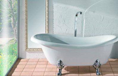 Salle de bain Plancher Blanc 010