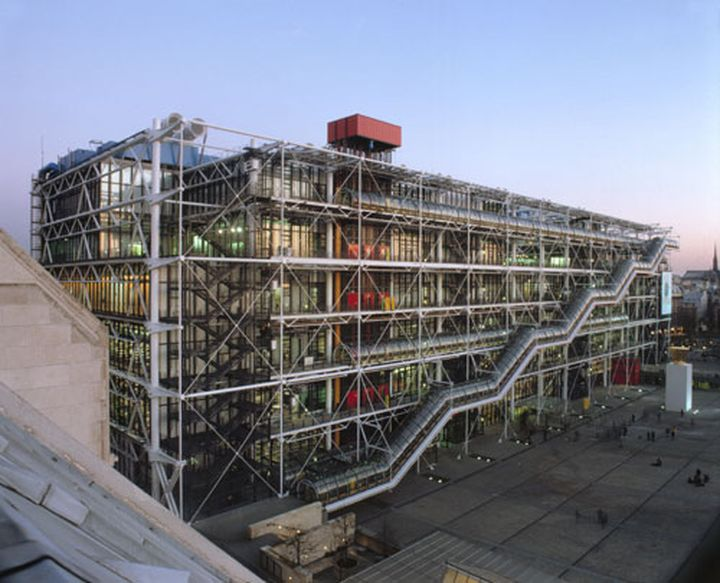Centro Pompidou Renzo Piano Richard Rogers-01