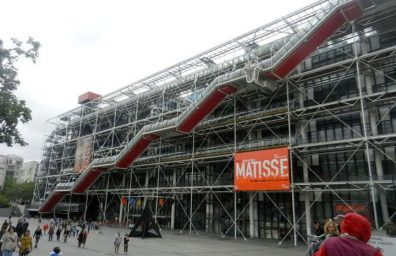 Ρένζο Πιάνο, ο Richard Rogers Centre Pompidou-04