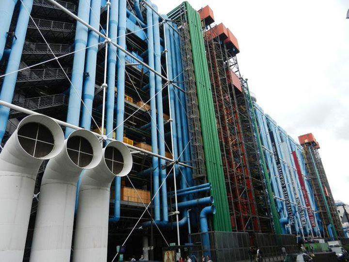 Centro Pompidou Renzo Piano Richard Rogers-12