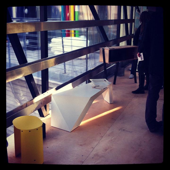 FOLDONE 00  EXHIBITION milan design week 2012