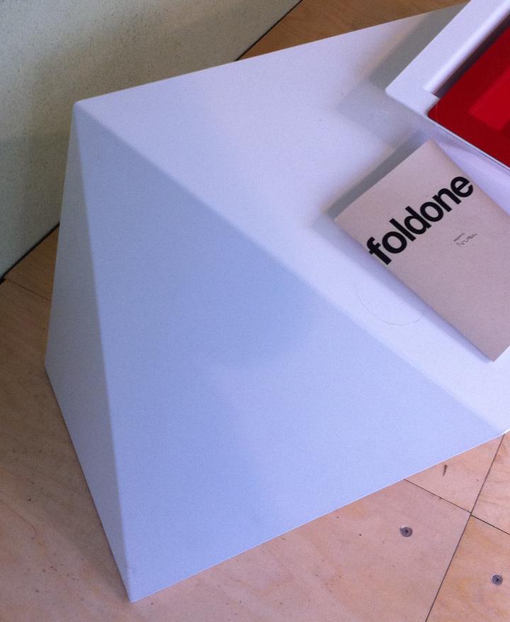 FOLDONE 06  EXHIBITION milan design week 2012