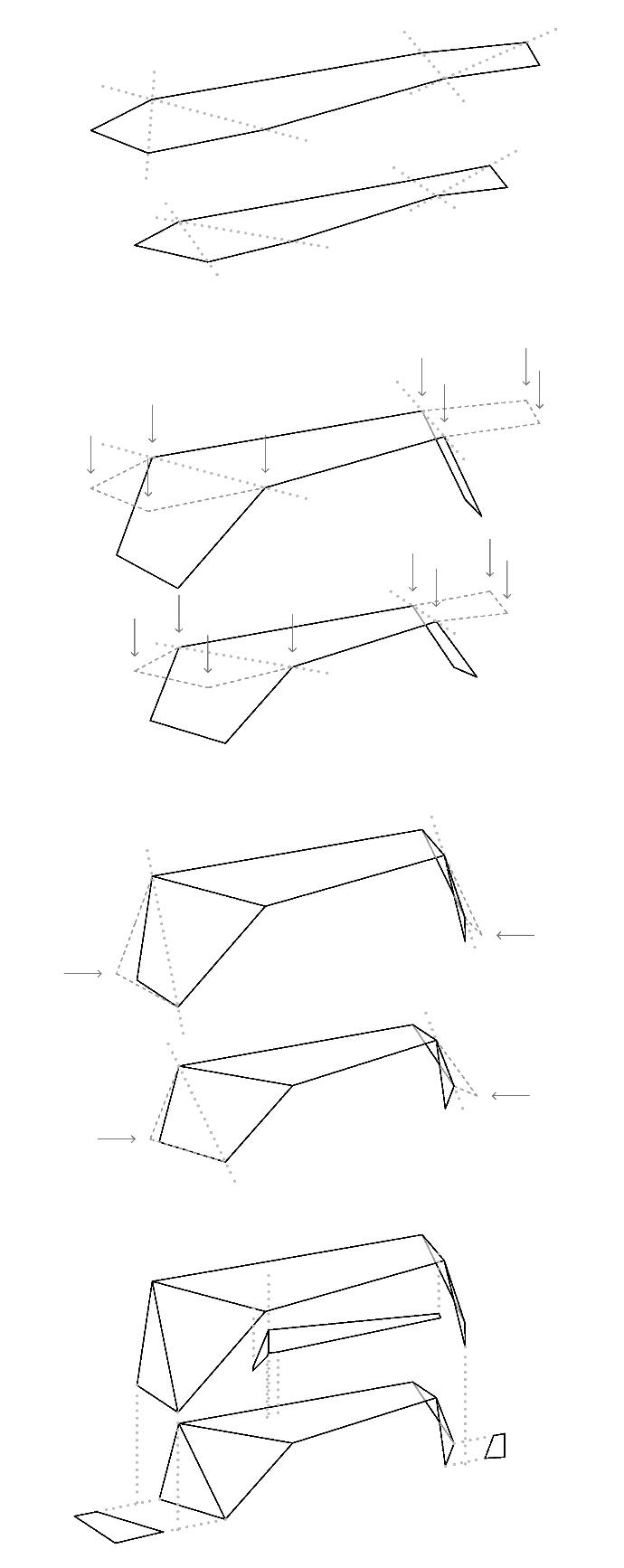 NOVAE FOLDONE unfolding diagram