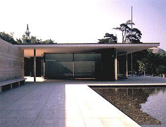 Pabellón de Barcelona de Mies van der Rohe