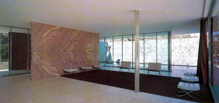 Mies van der Rohes Barcelona-Pavillon