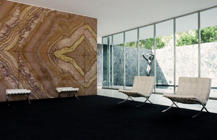 Sessel barcelona ludwig mies van der rohe social for Mies padiglione barcellona