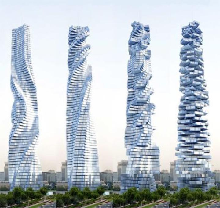ダイナミック·タワー超高層ビル