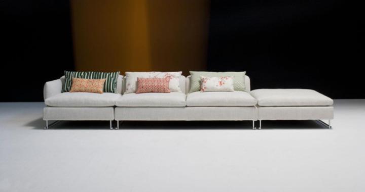 sofa pwent konpayon Shanghai nan Patricia urquiola