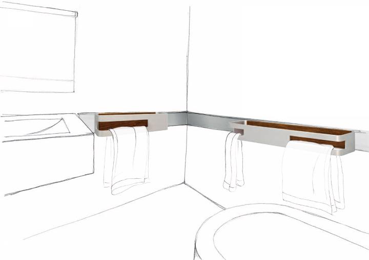 Accessoires salle de bains design App Design3