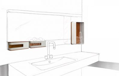Drawing accessories Bathroom App Design 2