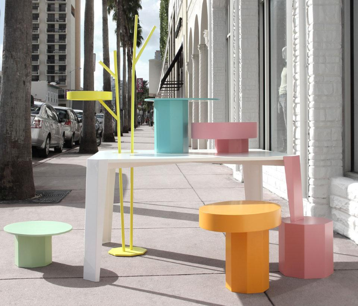 Fabrica  TABLE IN WONDERLAND A new system of furniture