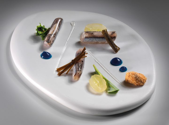 Krug en capitale Milan enrico anchois marinés Bartolini