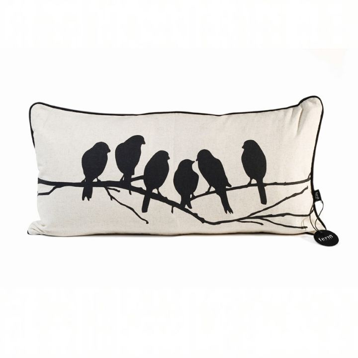 Ferm living love birds cushion Belnotes LOW
