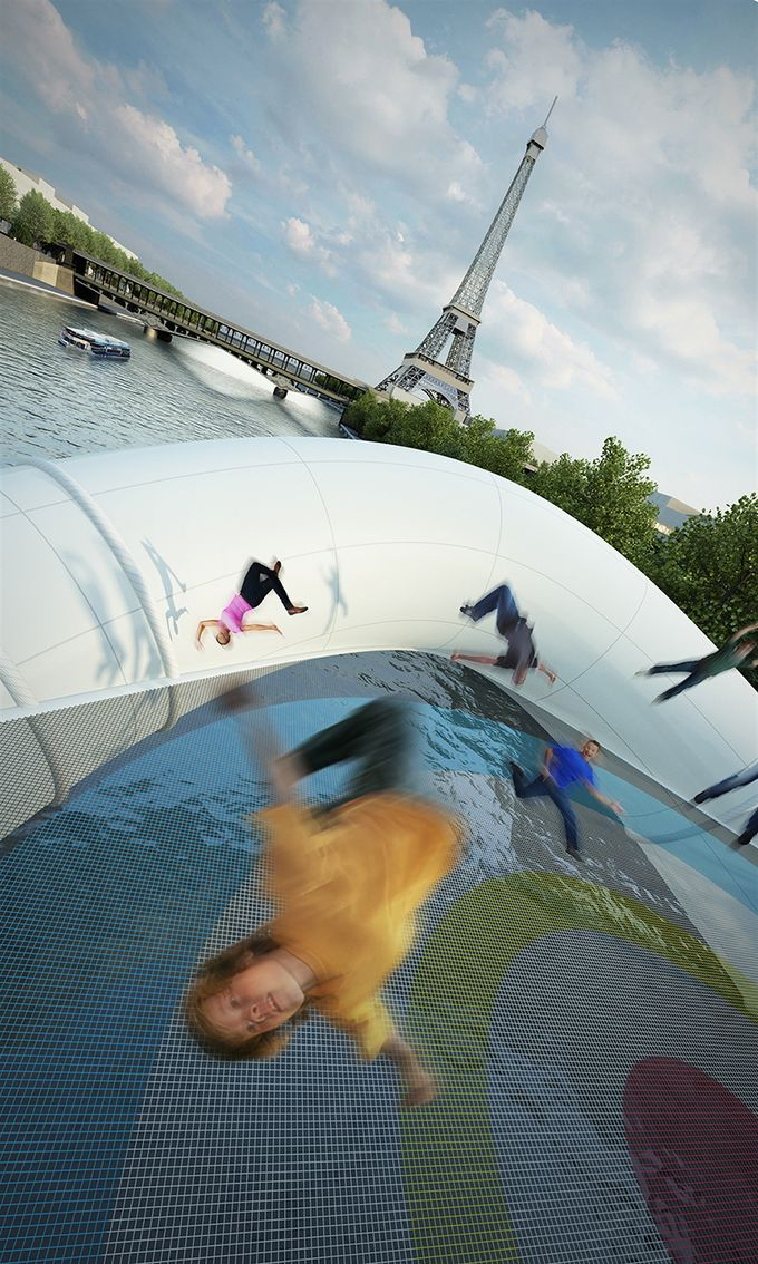 azc architecture bridge in paris 4