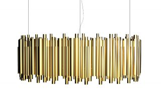 brubeck hanging dining sculptural lamp