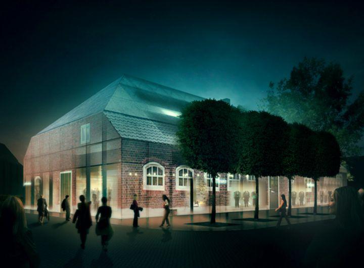 fazenda de vidro MVRDV na Holanda 01