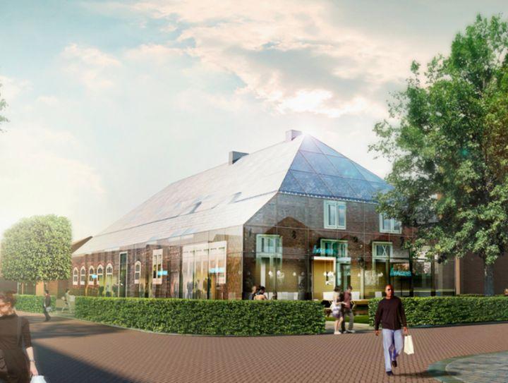 fazenda de vidro MVRDV na Holanda 06