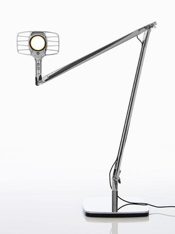 lampada da tavolo a led otto watt di luceplan disegnata da alberto meda e paolo rizzatto 04