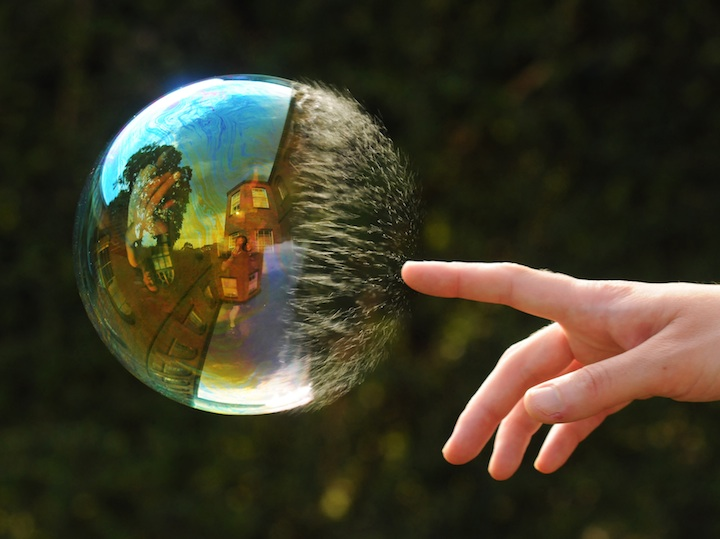 Richard Heeksl Magical Reflections on Soap Bubbles-10