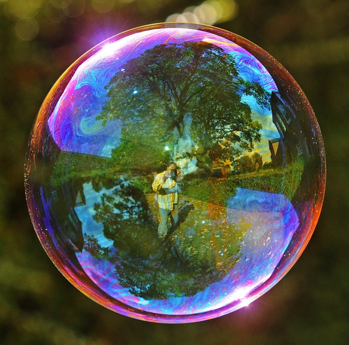 Richard Heeksl Magical Reflections on Soap Bubbles-12