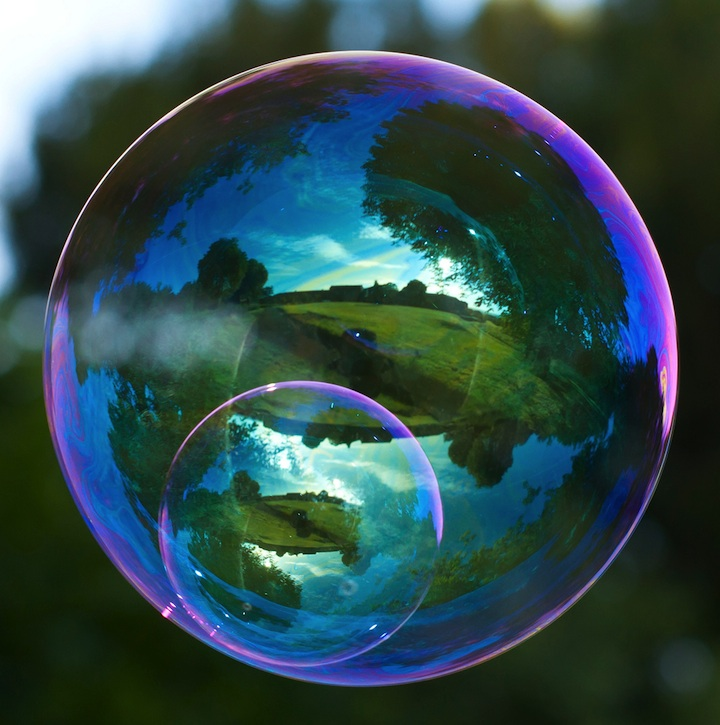 Richard Heeksl Magical Reflections on Soap Bubbles-15