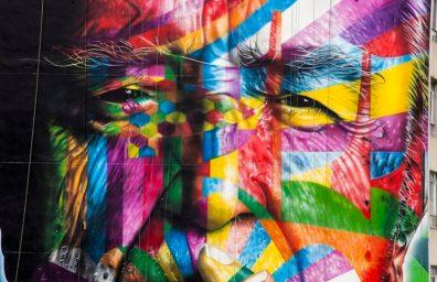 eduardo kobra homenaje a Oscar Niemeyer 01