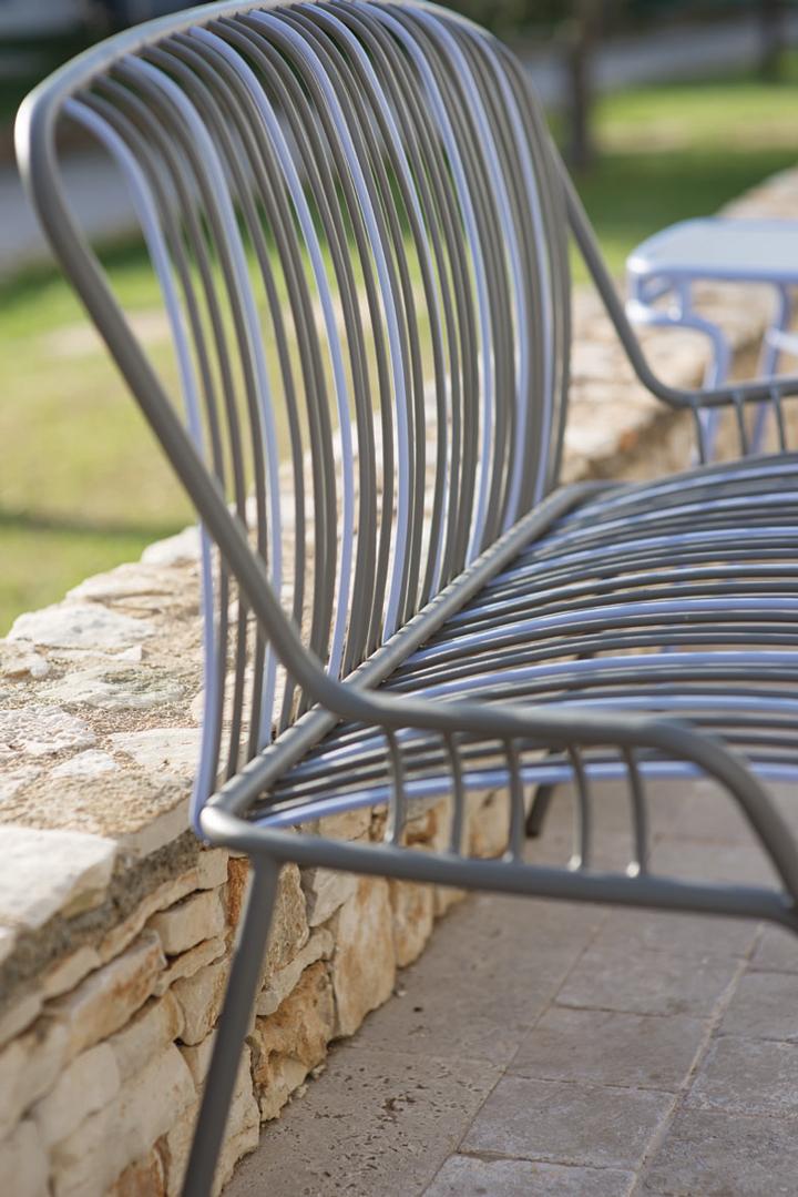Cadeira Tapisserie detalhe