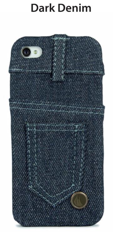 Denim-Jeans-Abdeckung Dunkel