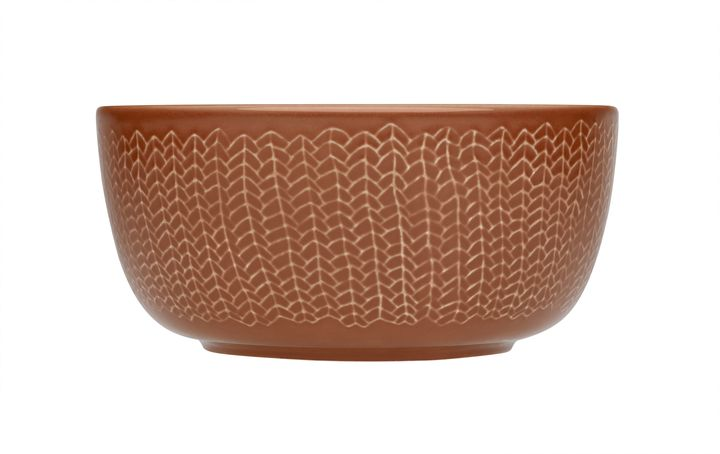 iittala Sarjaton bowl 0.68L Twin red clay
