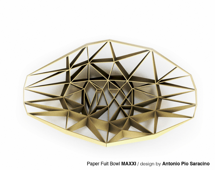 μουσεία χαρτί APSaracino MAXXIbowl872